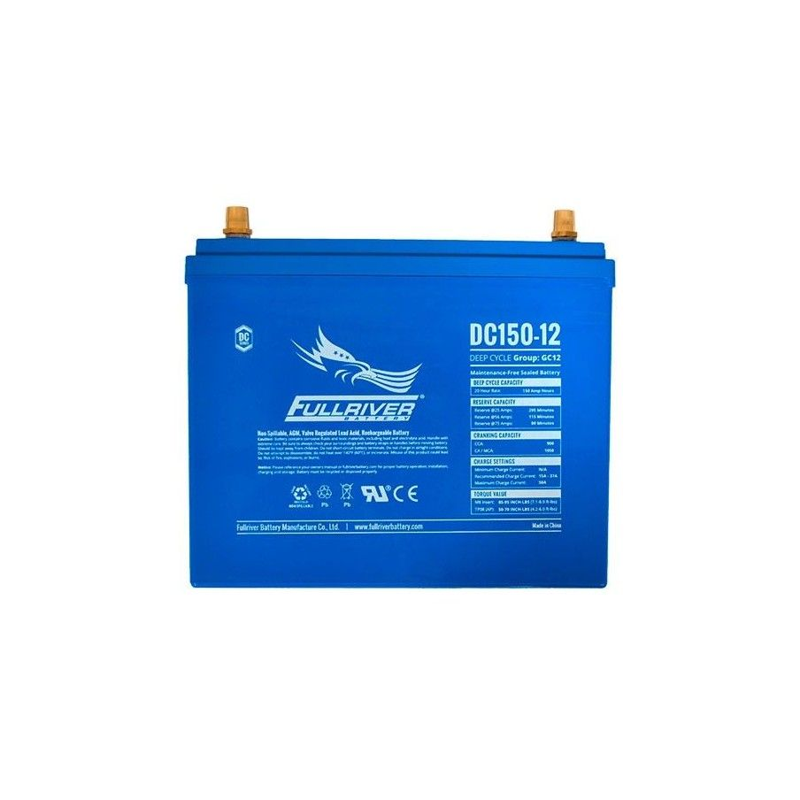 BATERIA Fullriver FULLRIVER DC150-12 150Ah 900A 12V FULLRIVER - 1