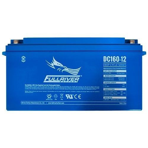 Battery Fullriver DC160-12 160Ah 910A 12V Dc FULLRIVER - 1