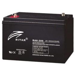 BATERIA Ritar RITAR RA6-200 212Ah 6V RITAR - 1
