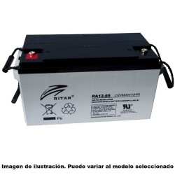 BATERIA MK POWERED GEL M34 SLD G 12V 60AH  - 1