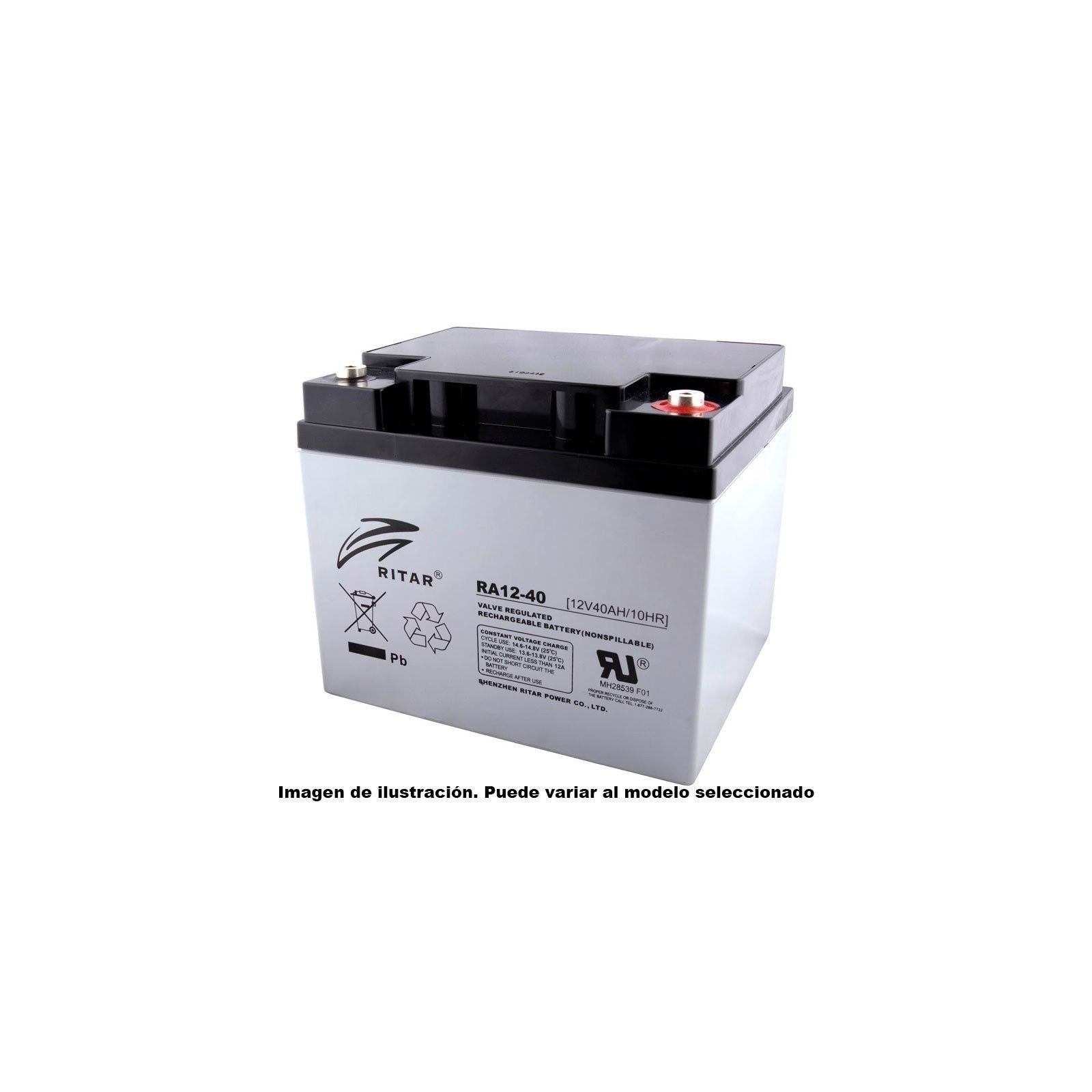 Batería Ritar RA12-40B 42Ah 12V Ra RITAR - 1