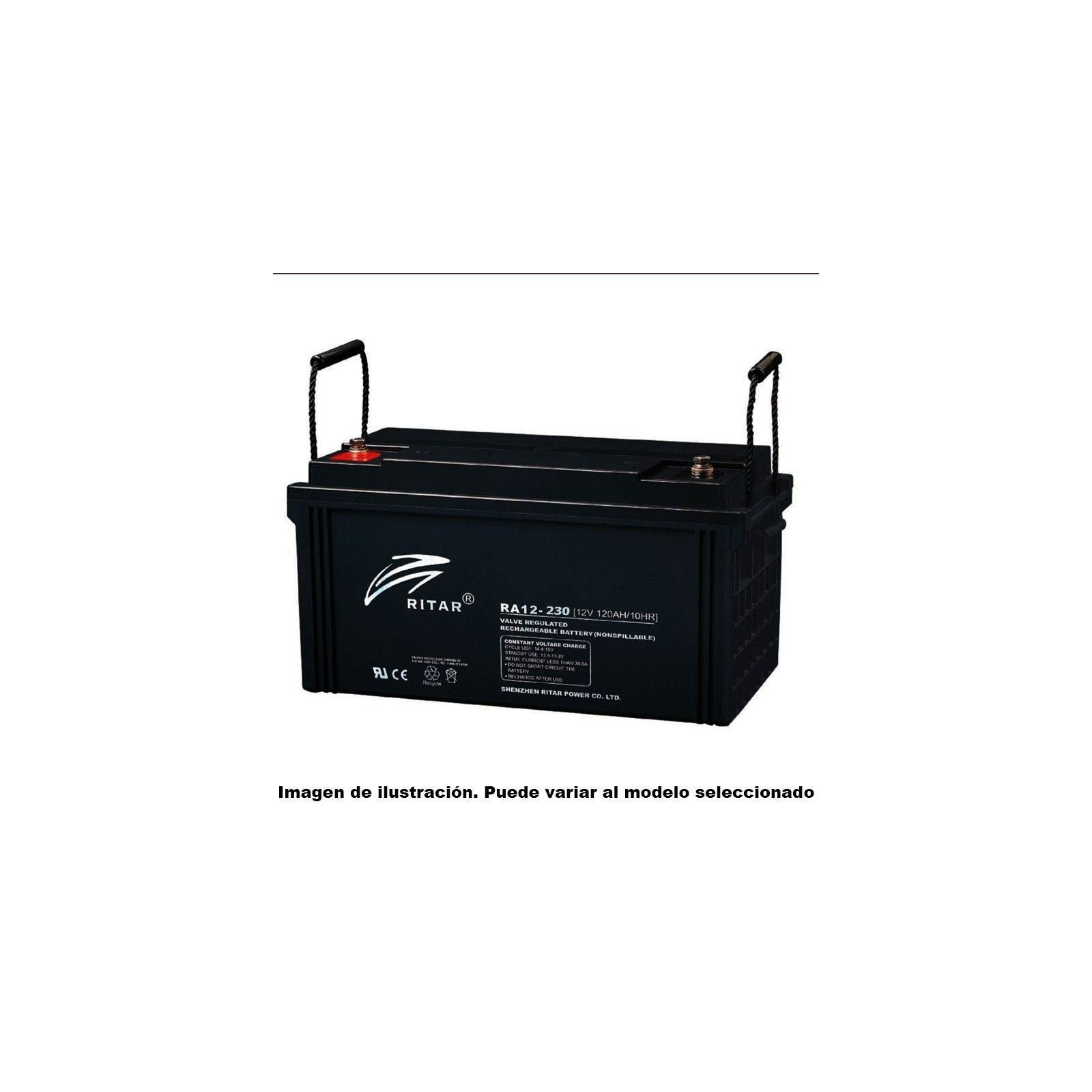 Batería Ritar RA12-225B 238Ah 12V Ra RITAR - 1