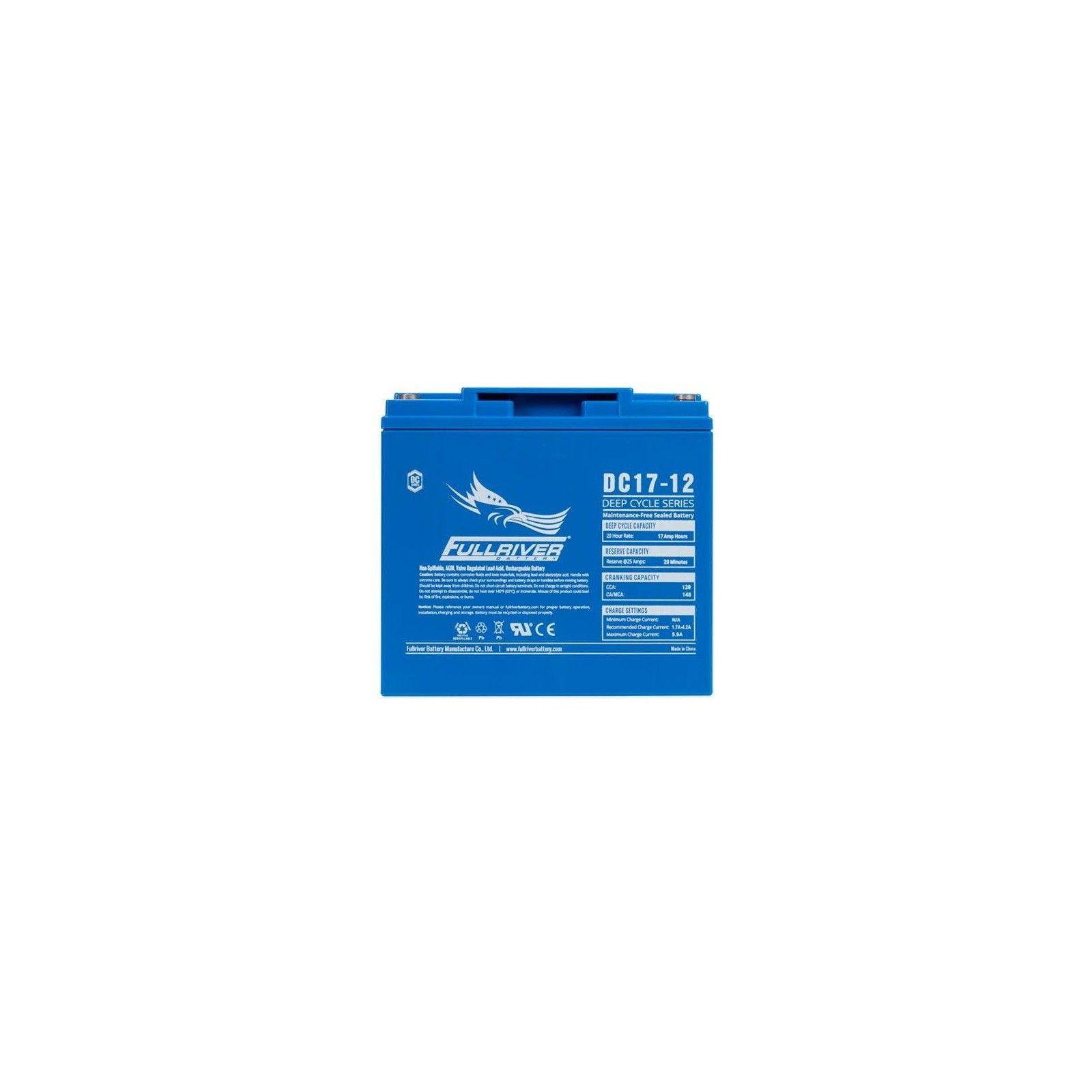 Battery Fullriver DC17-12 17Ah 120A 12V Dc FULLRIVER - 1