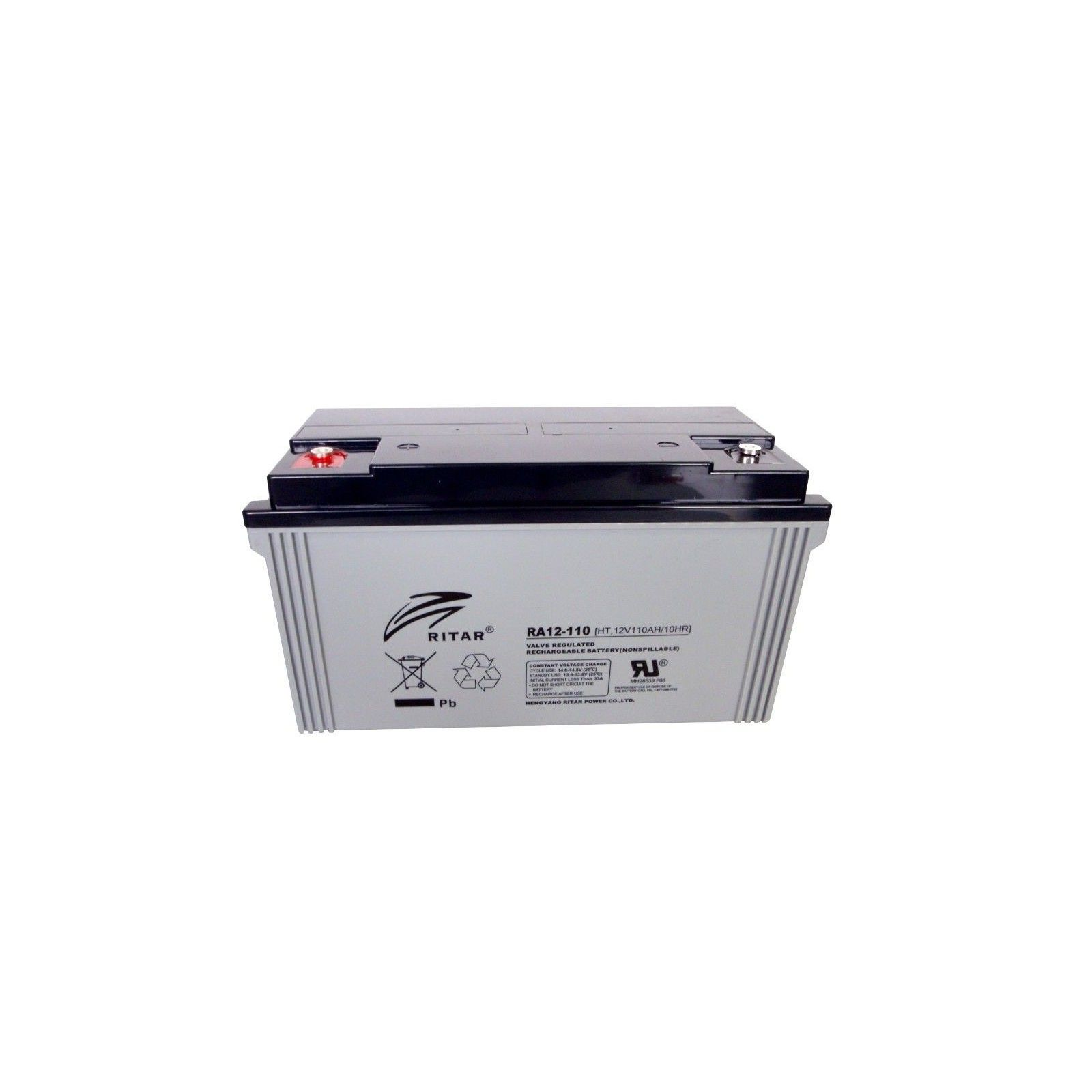 Batería Ritar HT12-130 137,4Ah 12V Ht RITAR - 1