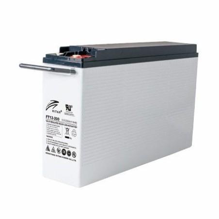 Batería Ritar FT12-200 200Ah 12V Ft RITAR - 1