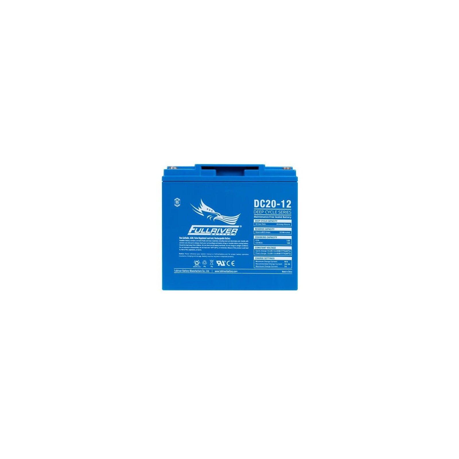 Batería Fullriver DC20-12 20Ah 135A 12V Dc FULLRIVER - 1