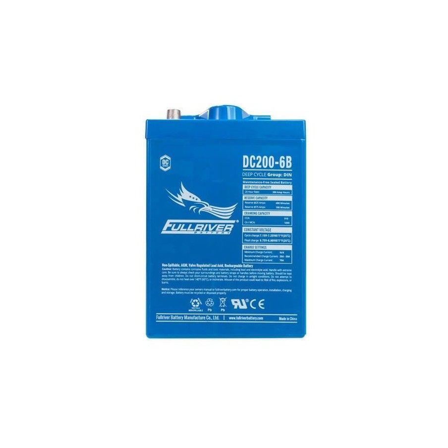 Batería Fullriver DC200-6B 200Ah -A 6V Dc FULLRIVER - 1