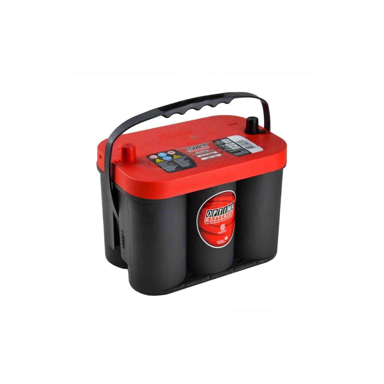 Battery Optima RTC-4.2 50Ah 815A 12V Red Top OPTIMA - 1