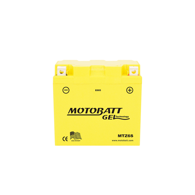 Batería Motobatt YTX5LBS-YTZ7S MTZ6S 6Ah 95A 12V Super Gel MOTOBATT - 1