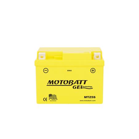 Batería Motobatt YB4LB-YTX4LBS MTZ5S 4,2Ah 65A 12V Super Gel MOTOBATT - 1