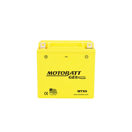 Batería Motobatt MTX9 9Ah 125A 12V Super Gel MOTOBATT - 1