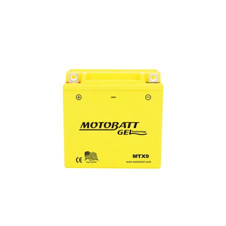 Battery Motobatt MTX9 9Ah 125A 12V Super Gel MOTOBATT - 1