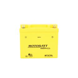 Batería Motobatt MTX7DL 7Ah 105A 12V Super Gel MOTOBATT - 1