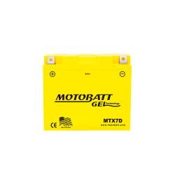 Batería Motobatt MTX7D 7Ah 105A 12V Super Gel MOTOBATT - 1