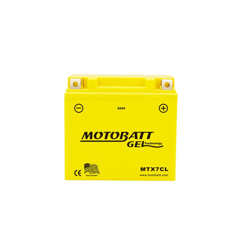 BATERIA Motobatt MOTOBATT MTX7CL 7Ah 100A 12V MOTOBATT - 1
