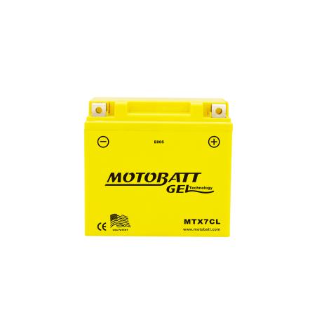 Batería Motobatt MTX7CL 7Ah 100A 12V Super Gel MOTOBATT - 1