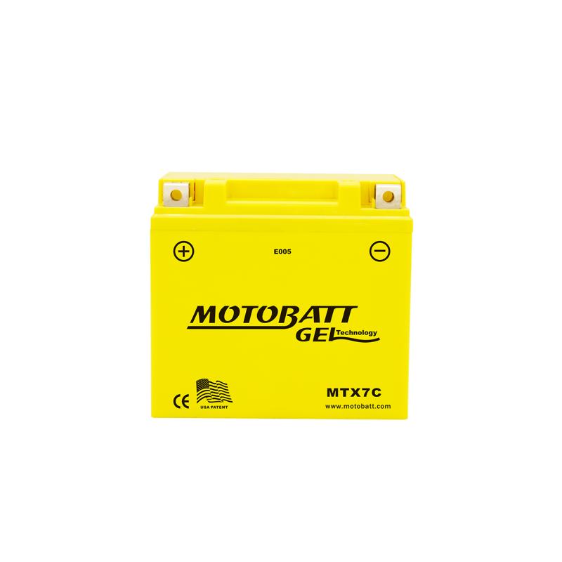 Batería Motobatt MTX7C 7Ah 100A 12V Super Gel MOTOBATT - 1