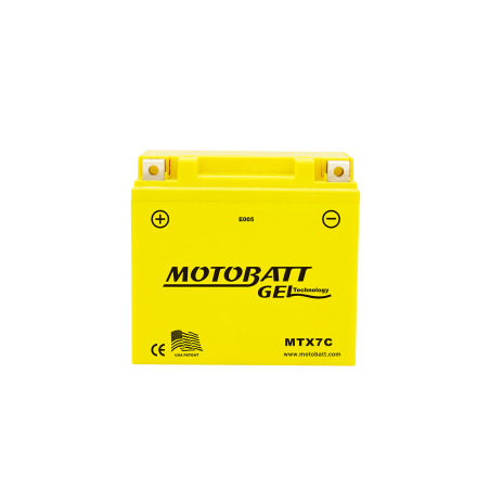 BATERIA Motobatt MOTOBATT MTX7C 7Ah 100A 12V MOTOBATT - 1