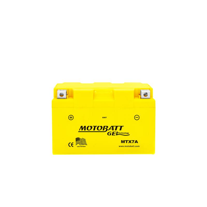 Batería Motobatt YTX7ABS MTX7A 7Ah 110A 12V Super Gel MOTOBATT - 1