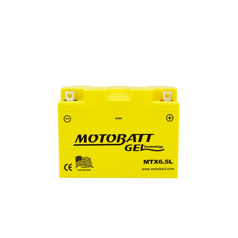Batería Motobatt MTX6.5L 6,5Ah 85A 12V Super Gel MOTOBATT - 1