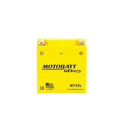 Batería Motobatt MTX5L 5Ah 70A 12V Super Gel MOTOBATT - 1