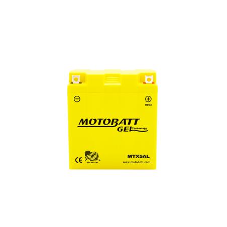 Batería Motobatt MTX5AL 5Ah 85A 12V Super Gel MOTOBATT - 1