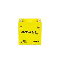 Batería Motobatt MTX3L 3Ah 35A 12V Super Gel MOTOBATT - 1