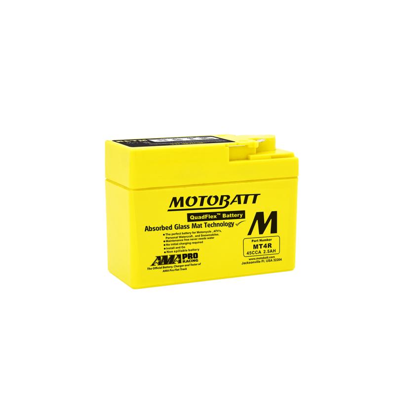 BATERIA Motobatt YTR4ABS MOTOBATT MT4R 2,5Ah 45A 12V MOTOBATT - 1