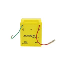 Batería Motobatt MT2.5L 2,5Ah 30A 12V Super Gel MOTOBATT - 1