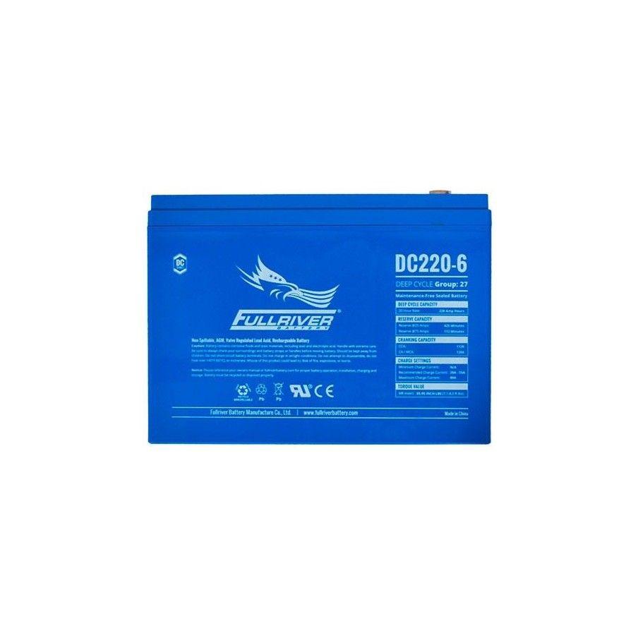 Batería Fullriver DC220-6 220Ah -A 6V Dc FULLRIVER - 1