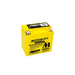Batería Motobatt MBTZ7S 6,5Ah 100A 12V Quadflex MOTOBATT - 1