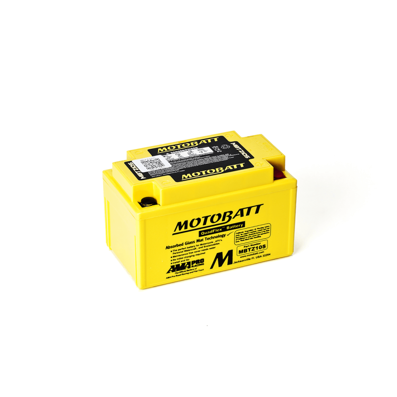 Batería Motobatt YTX7ABS-YTZ10S MBTZ10S 8,6Ah 190A 12V Quadflex MOTOBATT - 1