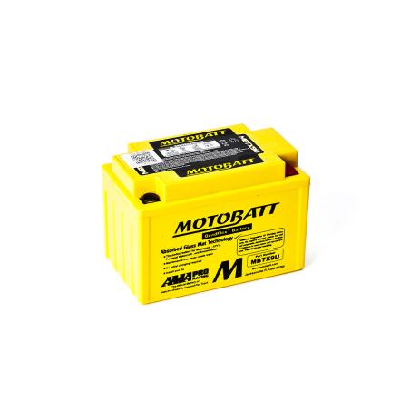 Batería Motobatt MBTX9U 10,5Ah 160A 12V Quadflex MOTOBATT - 1