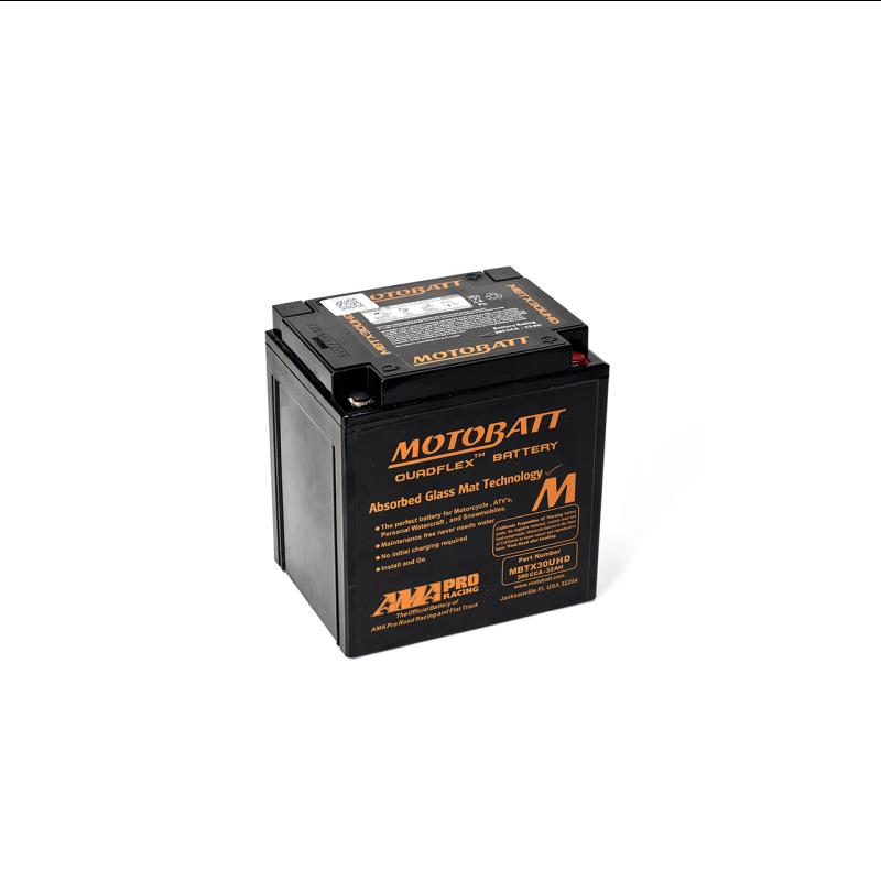 Batería Motobatt MBTX30UHD 32Ah 385A 12V Quadflex MOTOBATT - 1