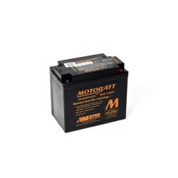 Batería Motobatt MBTX20UHD 21Ah 310A 12V Quadflex MOTOBATT - 1