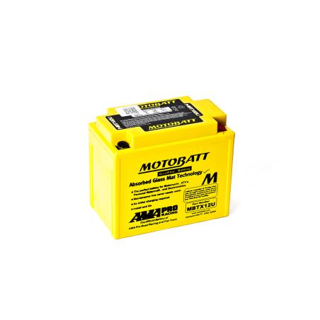 Batería Motobatt MBTX12U 14Ah 200A 12V Quadflex MOTOBATT - 1