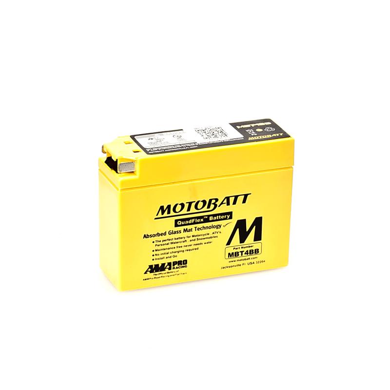 BATERIA Motobatt MOTOBATT MBT4BB 2,5Ah 40A 12V MOTOBATT - 1