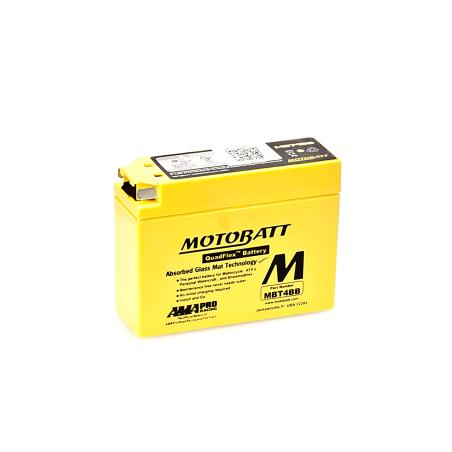 Batería Motobatt MBT4BB 2,5Ah 40A 12V Quadflex MOTOBATT - 1