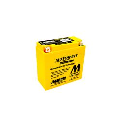 Batería Motobatt YT14BBS-YT14B4 MBT14B4 13Ah 175A 12V Quadflex MOTOBATT - 1