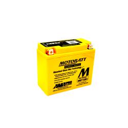 Batería Motobatt YT12BBS-YT12B4 MBT12B4 11Ah 150A 12V Quadflex MOTOBATT - 1