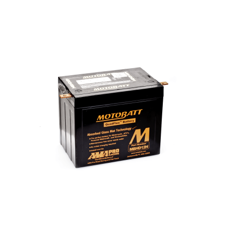 Batería Motobatt YHD12H MBHD12H 33Ah 390A 12V Quadflex MOTOBATT - 1