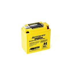 Batería Motobatt MB9U 11Ah 140A 12V Quadflex MOTOBATT - 1