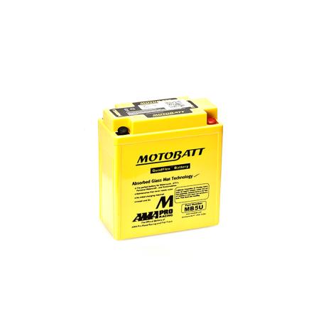 Batería Motobatt YB5LB,12N5-3B MB5U 7Ah 90A 12V Quadflex MOTOBATT - 1