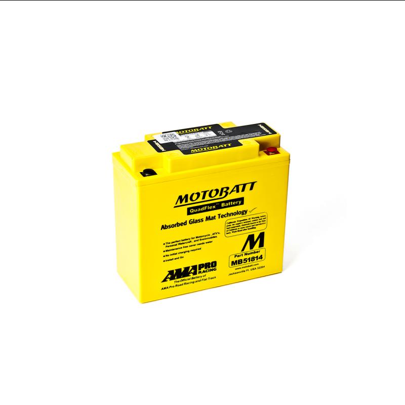 Batería Motobatt 51814-51913 MB51814 22Ah 220A 12V Quadflex MOTOBATT - 1