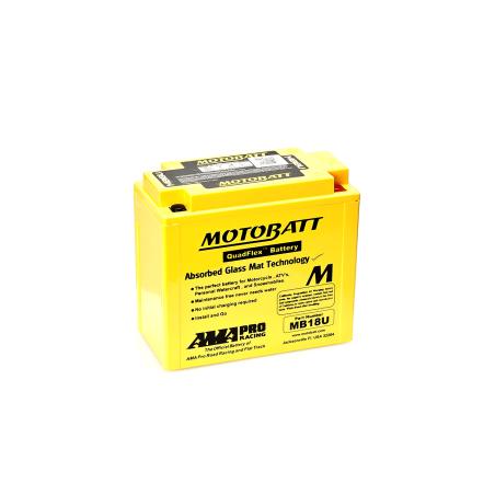 Batería Motobatt MB18U 22,5Ah 280A 12V Quadflex MOTOBATT - 1