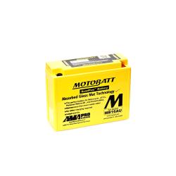 Batería Motobatt YB16ALA2 MB16AU 20,5Ah 230A 12V Quadflex MOTOBATT - 1