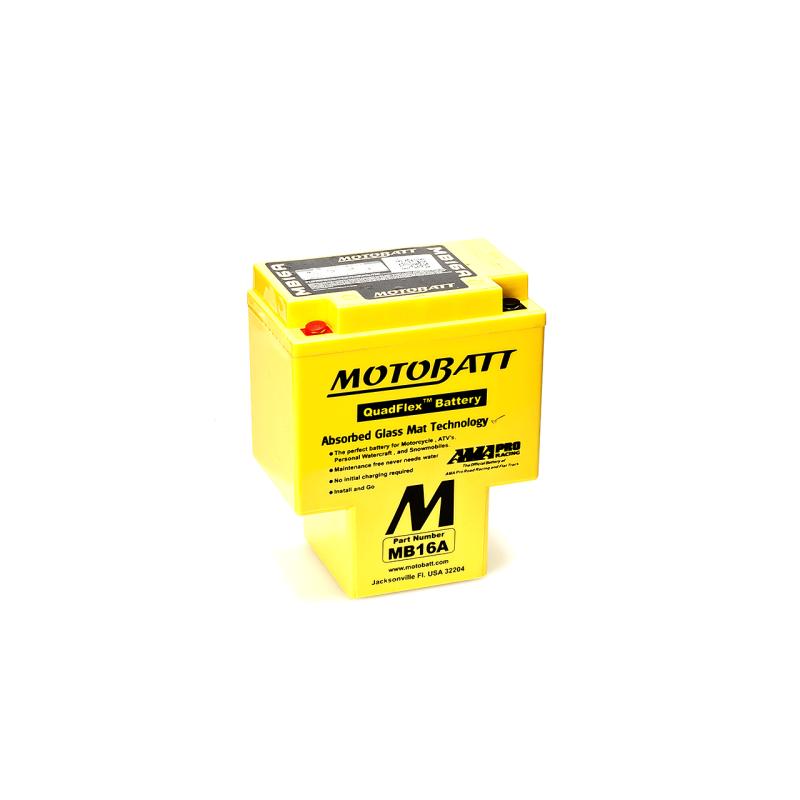 Batería Motobatt MB16A 19Ah 200A 12V Quadflex MOTOBATT - 1