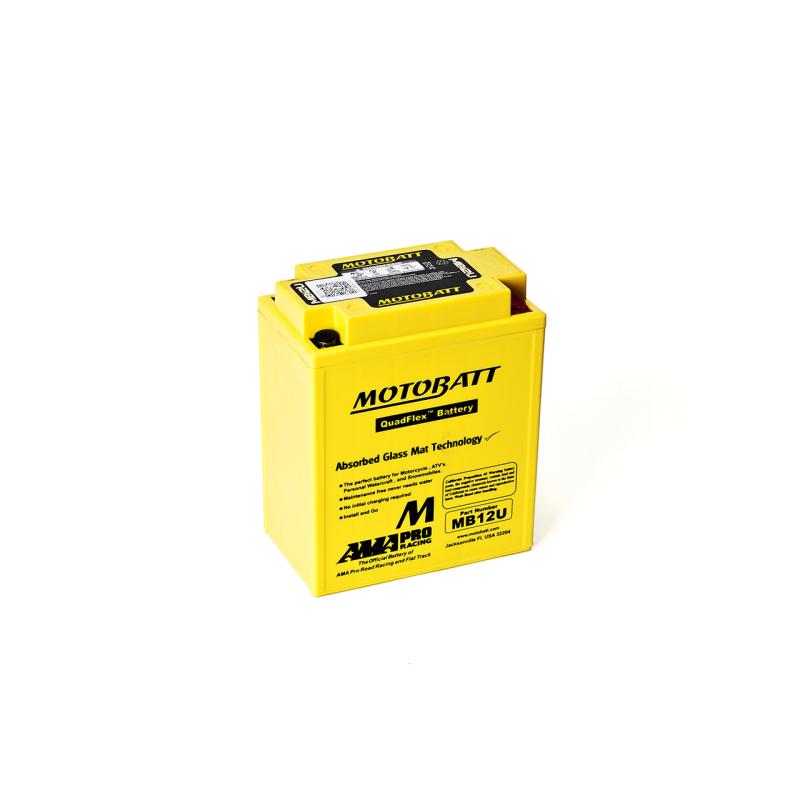 Batería Motobatt MB12U 15Ah 160A 12V Quadflex MOTOBATT - 1