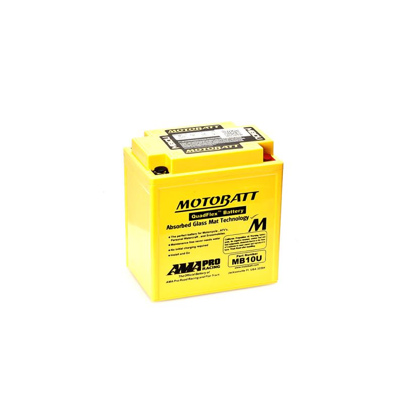 Batería Motobatt MB10U 14,5Ah 175A 12V Quadflex MOTOBATT - 1