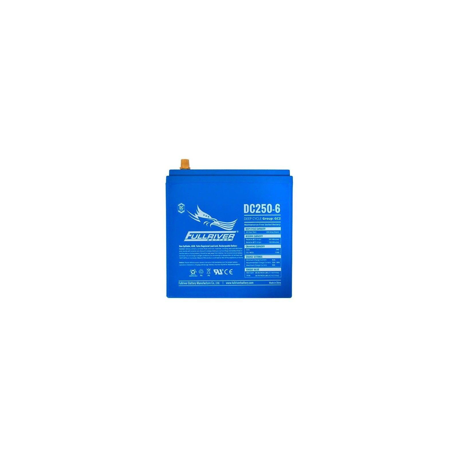 Battery Fullriver DC250-6 250Ah -A 6V Dc FULLRIVER - 1